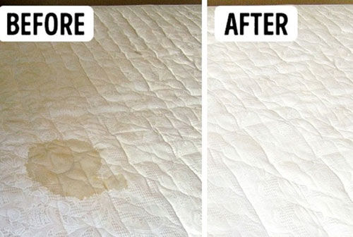 Mattress Stain Removal Indented Head
